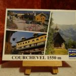 Carte postale Courchevel 1550 m