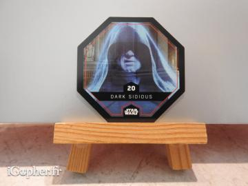 Jeton Star Wars Dark Sidious N°20 vendu en LOT