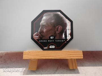 Jeton Star Wars Grand Moff Tarkin N°7