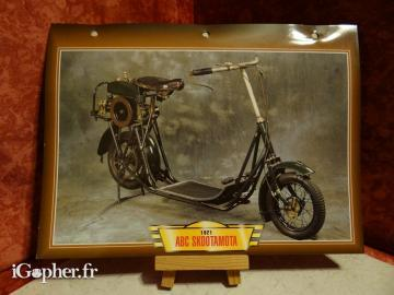 Fiche moto passion GM ABC Skootamota ABC de 1921