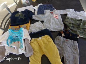 d64a35acdff19 Vêtements pour bébé de 1 mois (garçon) - iGopher.fr