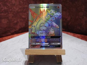 Carte Pokemon Turtonator GX