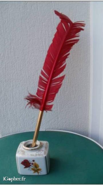 Porte stylo en porcelaine de limoges - Stylo pour porcelaine ...