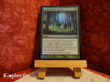 Carte Magic the Gathering : Guidé par les sylves (brillante)