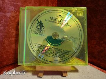 CD audio Trini Lopez 25th Anniversary