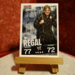 Carte de catch William Regal (3 versions)