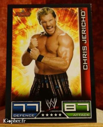 Carte de catch Chris Jericho (3 versions)