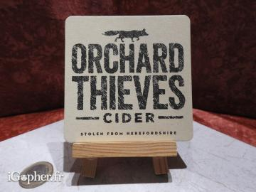 Sous-bock Orchard Thieves cider