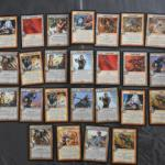 25 cartes Warlord Saga of the Storm