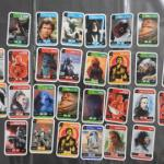 28 cartes Star Wars à collectionner
