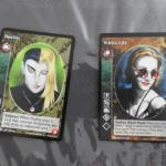 2 cartes Vampire à collectionner