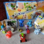 9 jouets Kinder Surprise