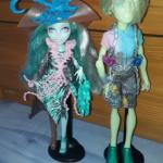 Poupée Geiss et Vandala Monster High