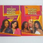 2 livres : Disney High School Musical