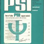 Revue : PSI N° 1 Magazine surnaturel face à la science (1977)