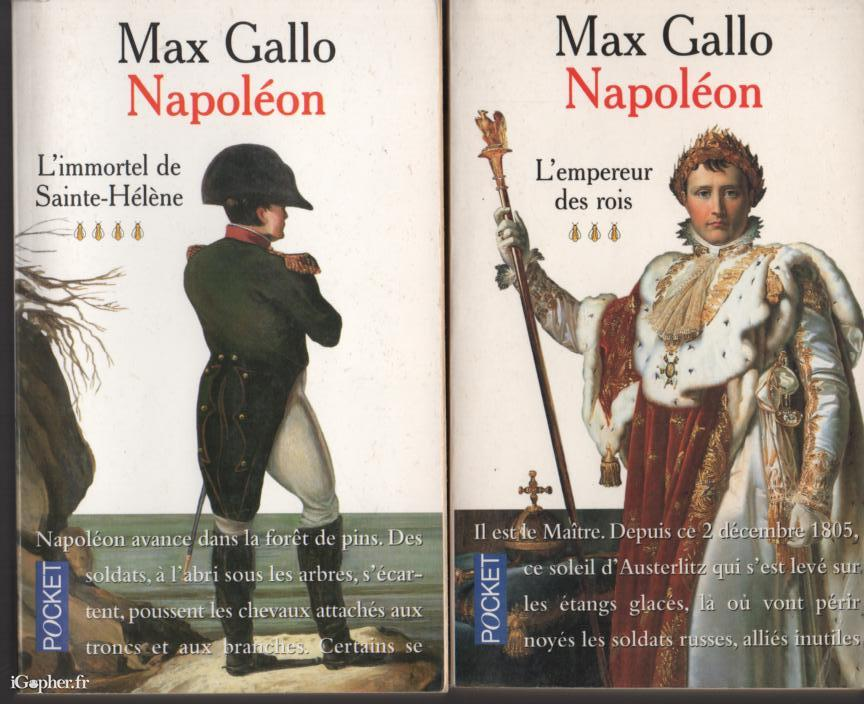 Макс Галло Наполеон Алиб
