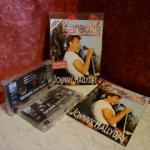 2 cassettes audio Johnny Hallyday (karaoké)
