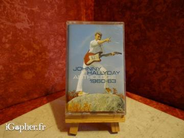 K7 audio Johnny Hallyday Anthologie 1960-1963 (audio)