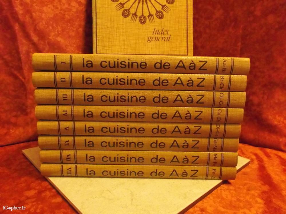 8 livres cuisine de a z pour apprendre cuisiner