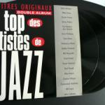 Vinyle double album 33 tours Le Top des Artistes de Jazz