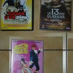 3 DVD (Austin Powers, Le 13ème Guerrier, Susan a un plan)