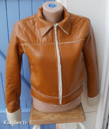 Blouson Lulu Castagnette (Taille 1) - Made in France