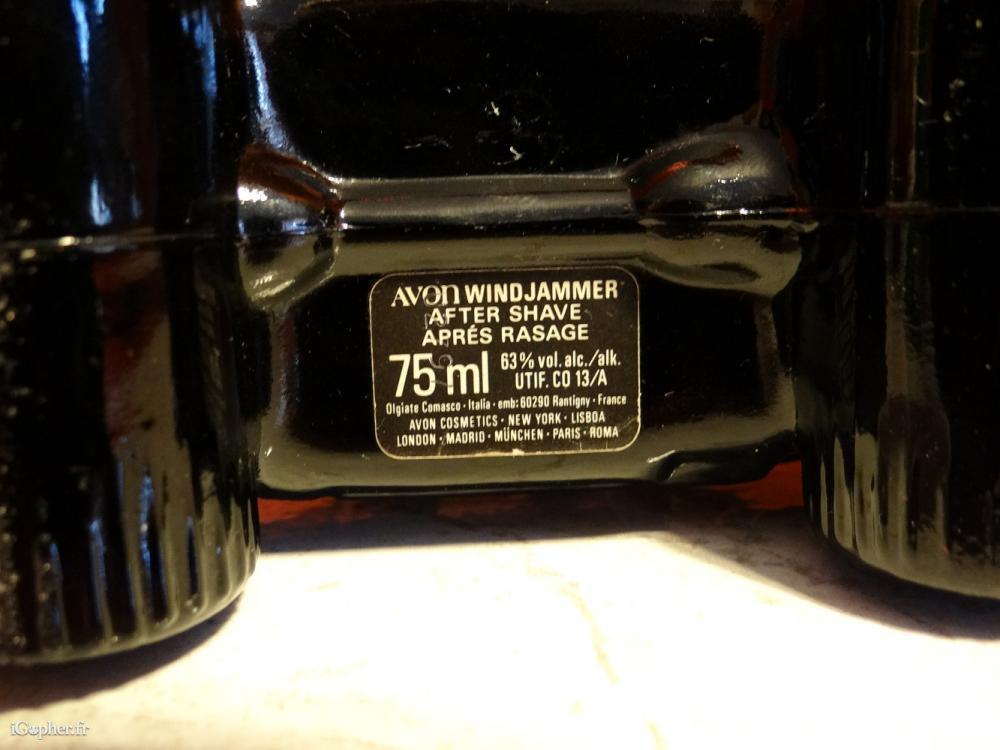 Flacon De Parfum Avon Voiture 4x4 Wind Jammer Réf 01 Igopherfr