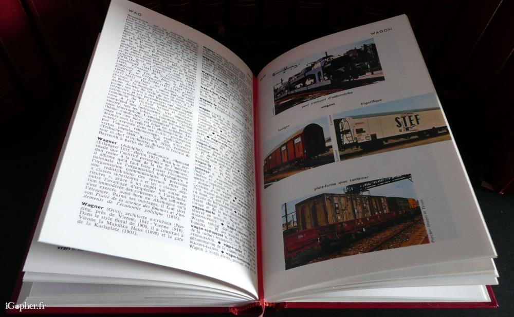 encyclopedie larousse en 23 volumes
