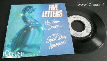 Vinyle 45 tours des Five Letters Ma Keen Dawn