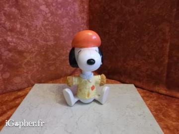 Figurine Snoopy (peintre)