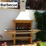 Kit Barbecue fixe en brique (AV1900F)