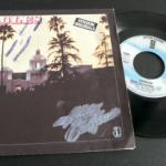 Vinyle Eagles Hotel California - version originale - 45 tours