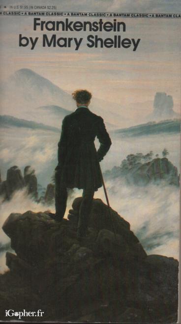 Livre anglais : Frankenstein (Mary Shelley) - iGopher.fr