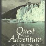 Livre en anglais : Quest for Adventure (Chris Bonington)