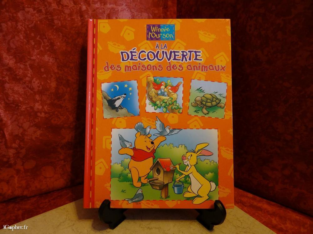 Livre Winnie L Ourson Decouverte Des Maisons Et Animaux