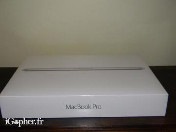 Apple MacBook Pro Retina - Core i5 13.3 pouces 8Go de RAM SSD 256 Go