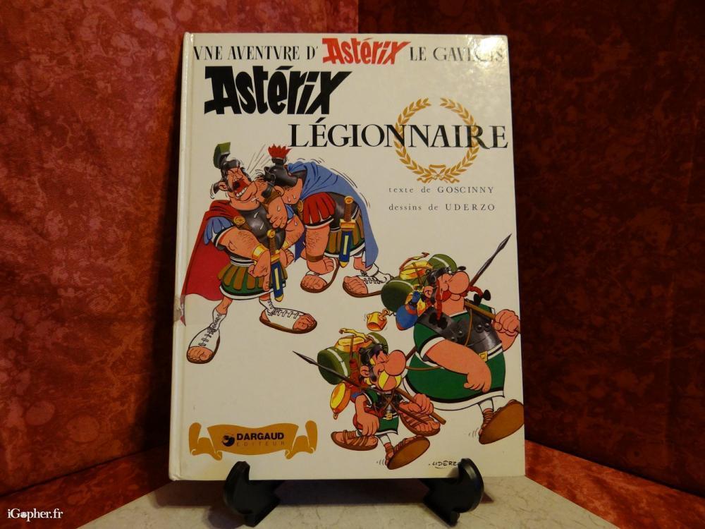 Bd Asterix Legionnaire 1981