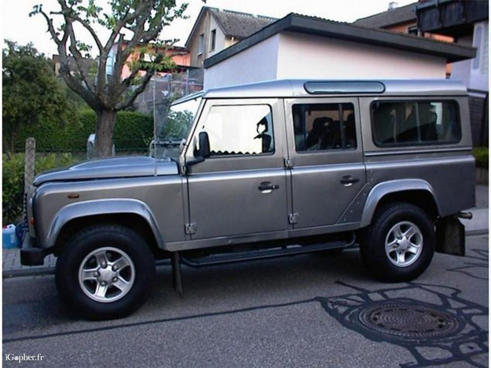 land rover defender 110 td4 sw 7 places