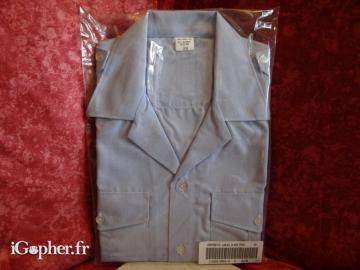 Chemisette Militaire homme (Taille 39)