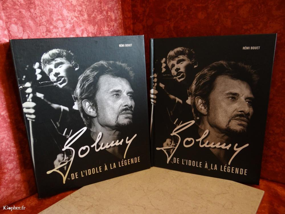 livre coffret johnny hallyday de l 39 idole la l gende. Black Bedroom Furniture Sets. Home Design Ideas