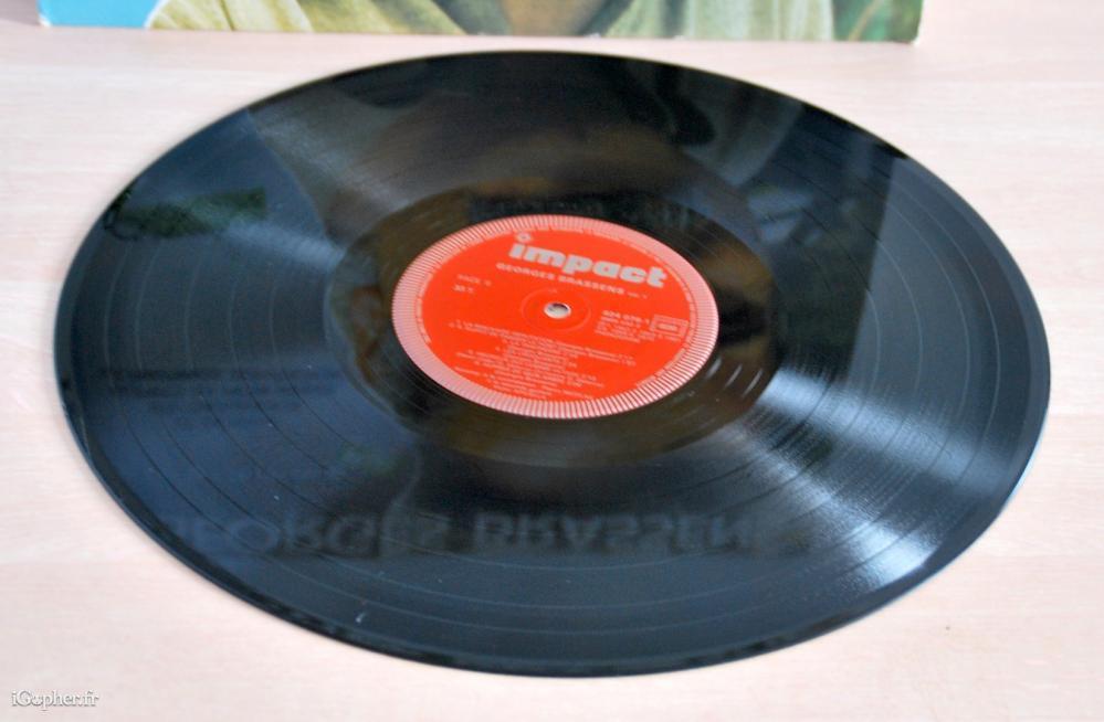 Disque vinyle 33 tours de george brassens rare - Collectionneur de disque vinyl 33 tours ...