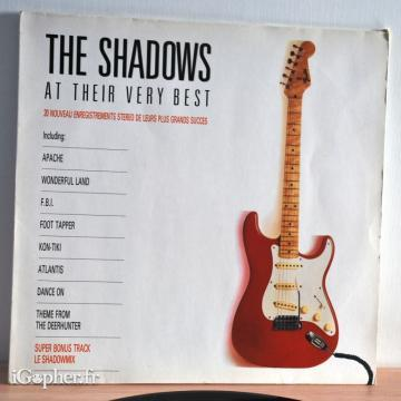 Vinyle 33T The Shadows : At Their Very Best