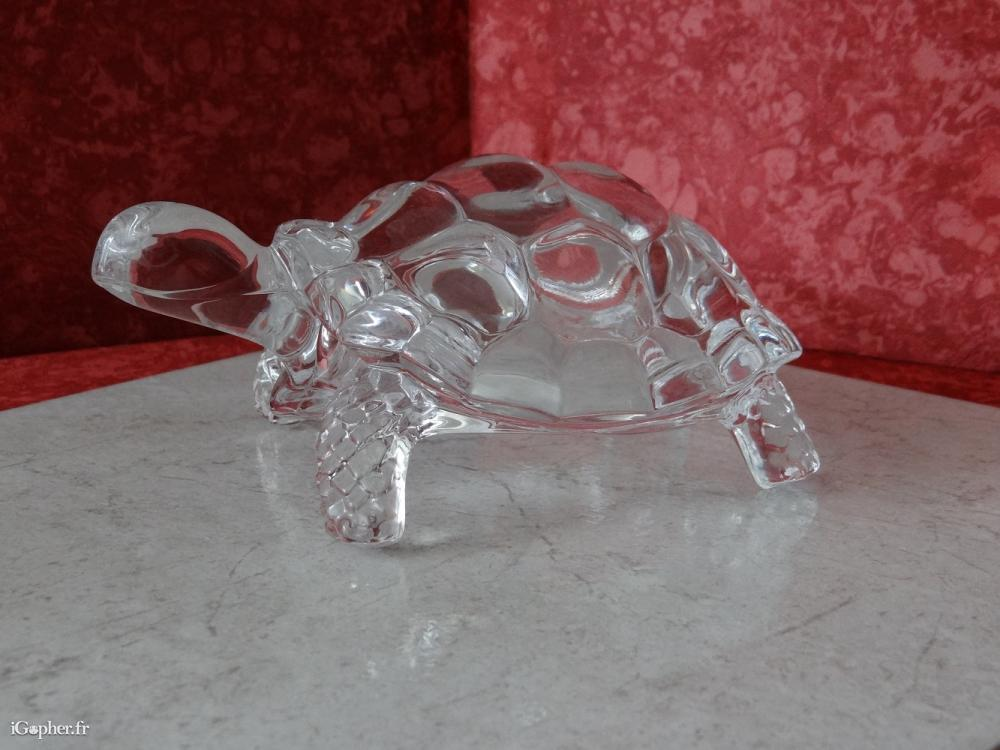 Tortue en cristal d 39 arques for Tortue decoration