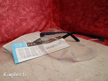 Lunette de protection Secureva Serie Avashark