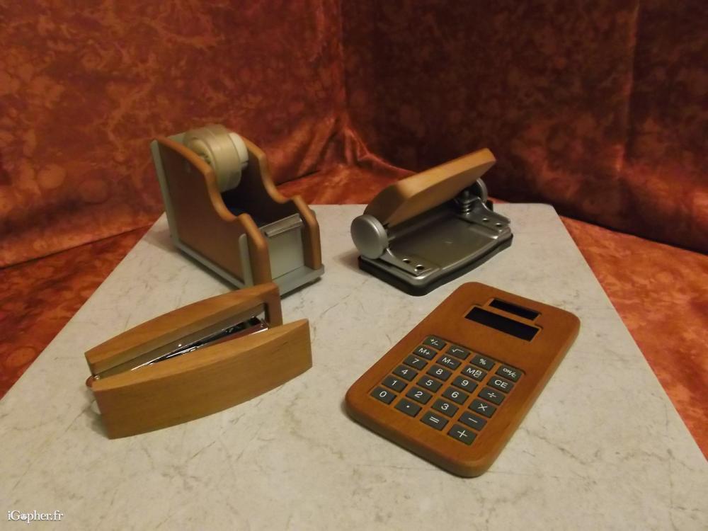 Kit de bureau en bois igopher