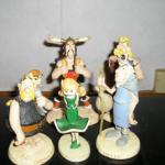 5 figurines Astérix Collection Atlas