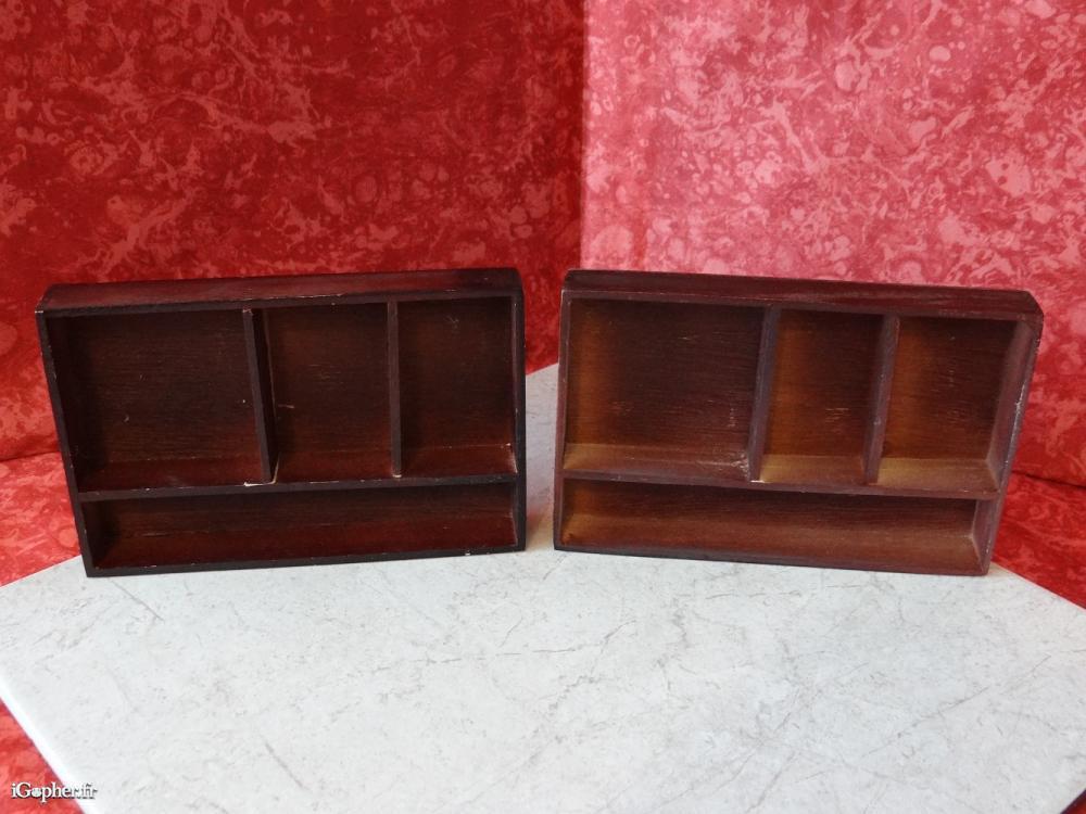2 Meubles Miniatures En Bois Igopherfr