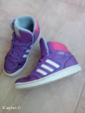 Chaussures fille Adidas Montantes 38
