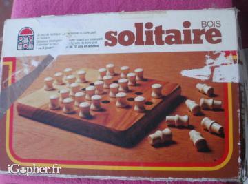 Solitaire jeu de soci t en bois edition dujardin for Jeu societe dujardin