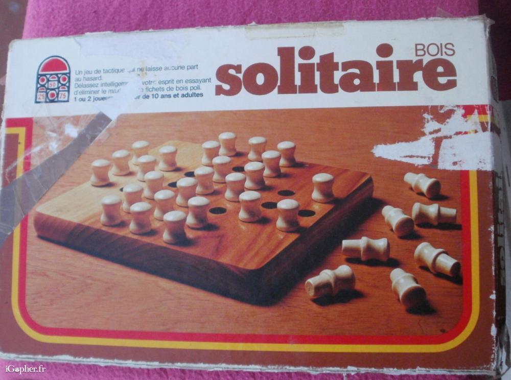 Solitaire jeu de soci t en bois edition dujardin for Edition dujardin